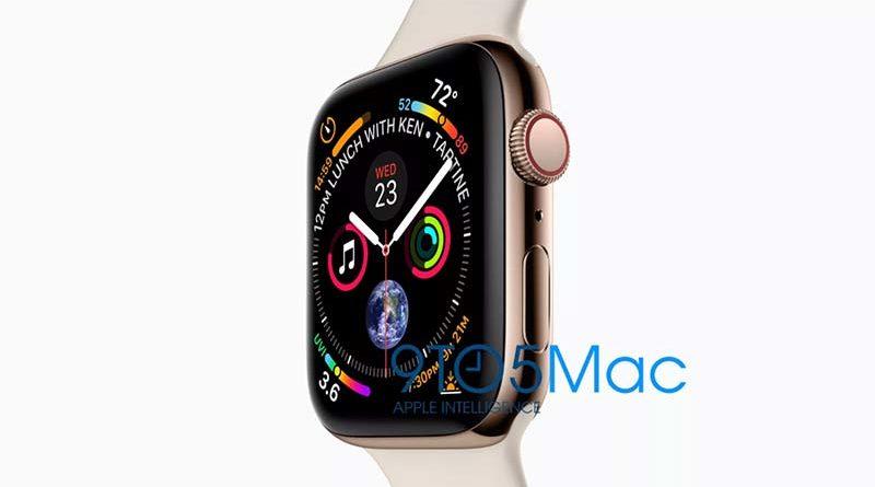 Новая утечка раскрыла подробности о Apple Watch Series 4