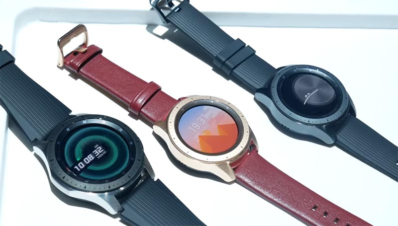Дизайн и экран Galaxy Watch