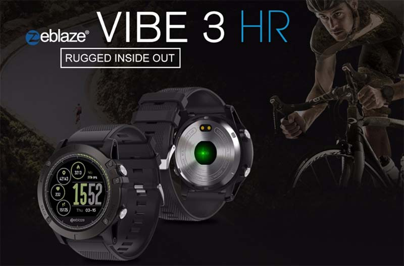 Zeblaze Vibe 3 HR за 34,99$ (50% скидки)