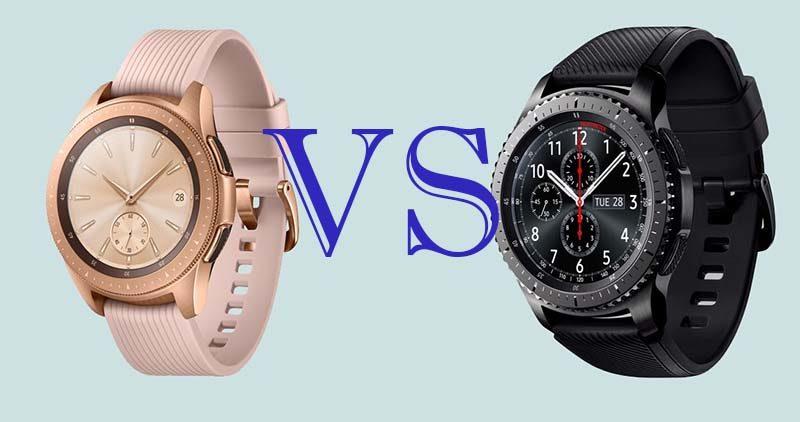Сравнение смарт-часов Samsung Galaxy Watch и Samsung Gear S3 9e460abe83c02