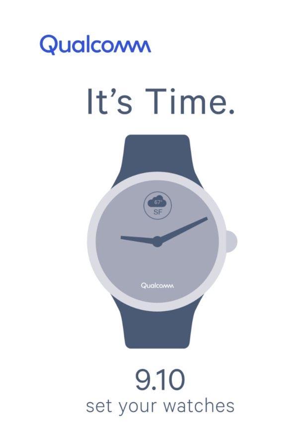 10 сентября Qualcomm представит новый процессор для умных часов