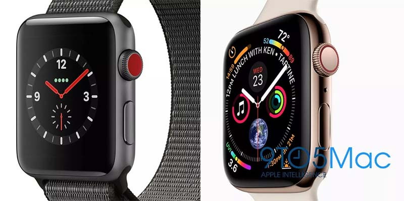 Утечка Apple Watch Series 4