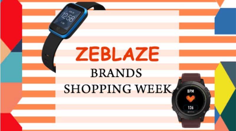 Все умные часы и фитнес-браслеты Zeblaze со скидкой до 79%