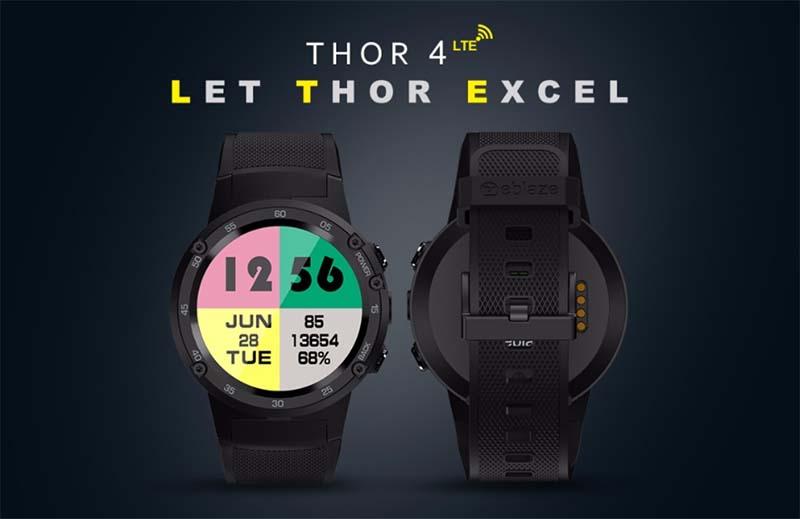 Zeblaze Thor 4 за 118,77$ (скидка 50 процентов)