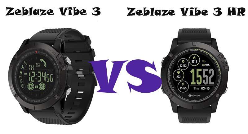 Zeblaze Vibe 3 и Vibe 3 HR