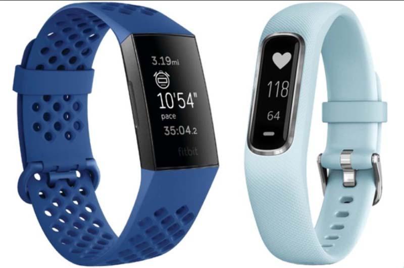 Garmin Vivosmart 4 и Fitbit Charge 3