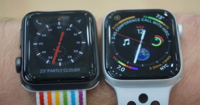 Сравнение умных часов Apple Watch Series 4 и Watch Series 3