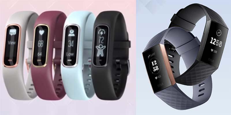 Garmin Vivosmart 4 против Fitbit Charge 3: сравнительный обзор