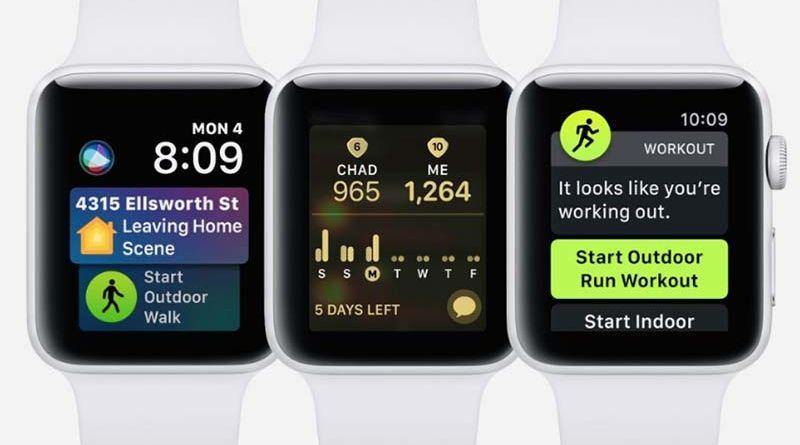 Apple выпуcтила обновление watchOS 5.0.1 с исправлениями ошибок