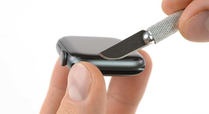 Удалить элемент: Разборка Apple Watch Series 4 Разборка Apple Watch Series 4
