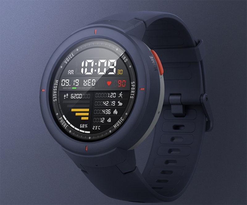 Huami Amazfit Verge: GPS, NFC и круглосуточный мониторинг пульса за 115 долларов