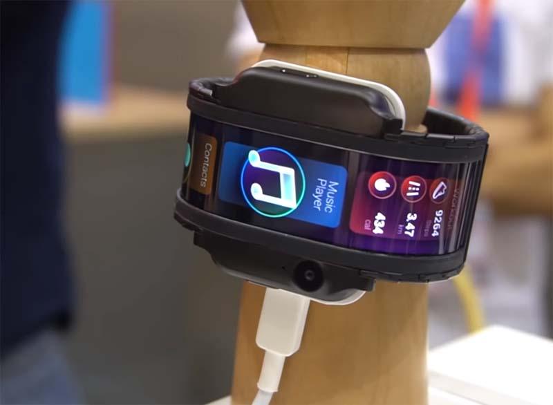 """Носимый смартфон Nubia Alpha: """"живые"""" фото и первые впечатления"""