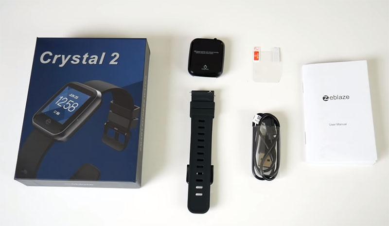 7 причин купить фитнес-часы с пульсометром Zeblaze Crystal 2