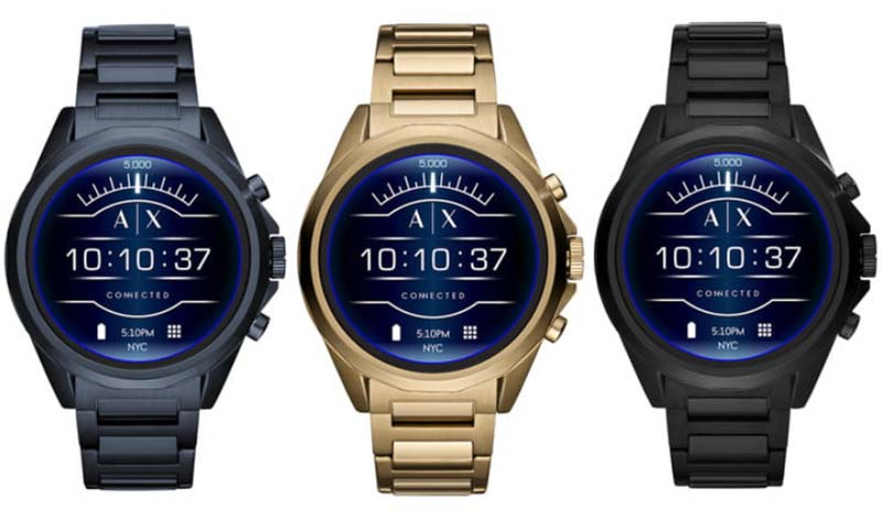 Armani Exchange Connected: новые умные часы от модного бренда