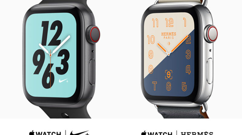 Apple Watch Nike+ и Watch Hermès