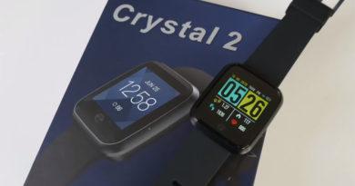 фитнес-часы с пульсометром Zeblaze Crystal 2