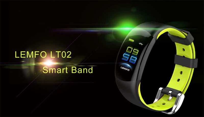 Смарт-браслет LEMFO LT02