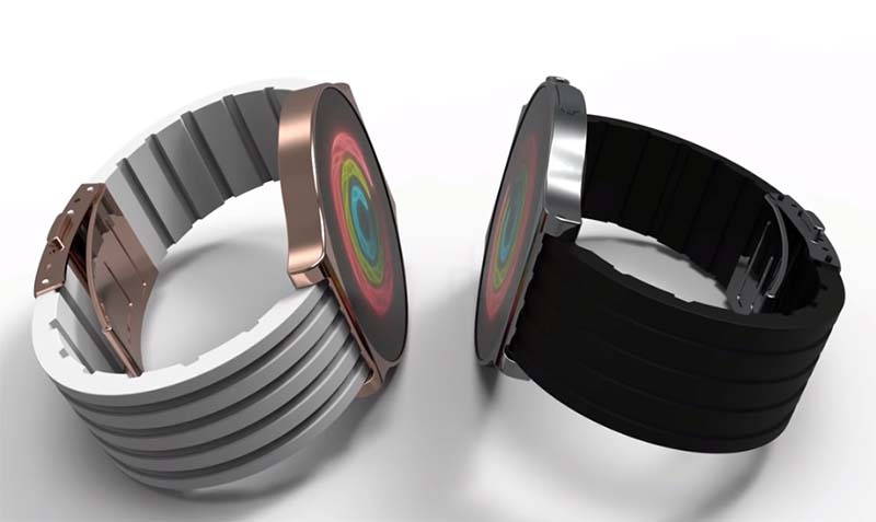 В сети появился концепт умных часов Apple Round Series с круглым экраном