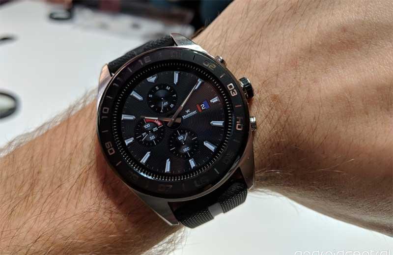 LG Watch W7 представлены официально