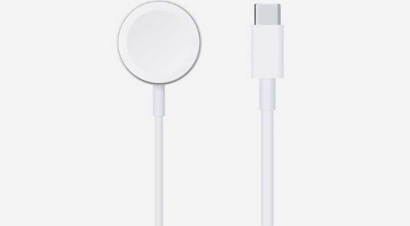 зарядное устройство для Apple Watch с кабелем USB Type-C