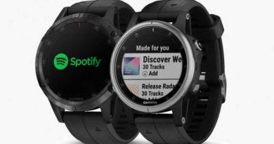 Умные часы Garmin теперь поддерживают сервис Spotify