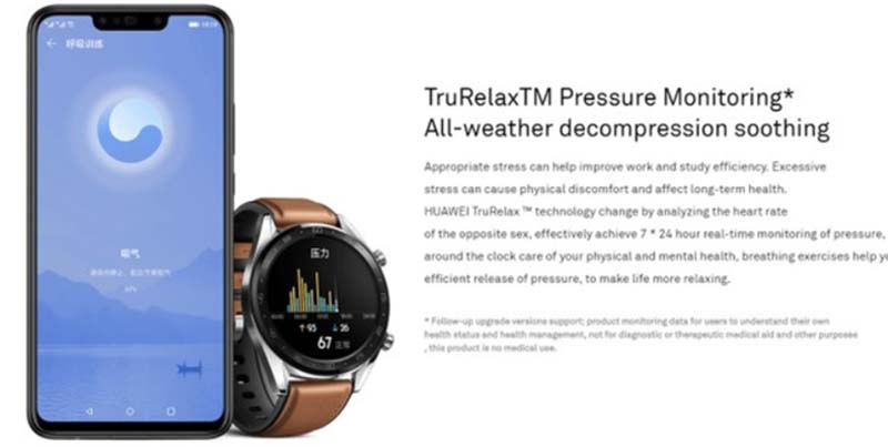 """Huawei Watch GT """"засветились"""" на официальном сайте производителя"""