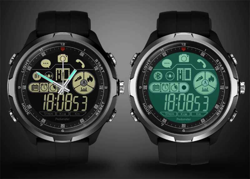 Zeblaze VIBE 4 HYBRID: новые гибридные смарт-часы с автономностью до 33 месяцев