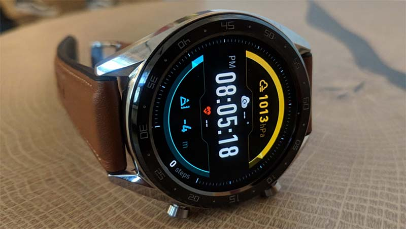 Дизайн Huawei Watch GT