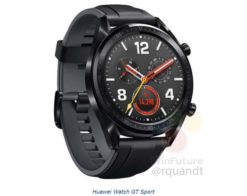 Huawei Watch GT характеристики