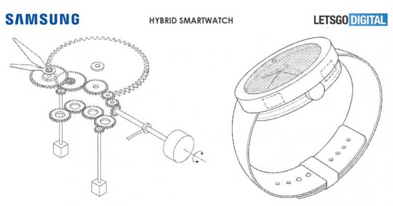 Гибридные смарт-часы Samsung