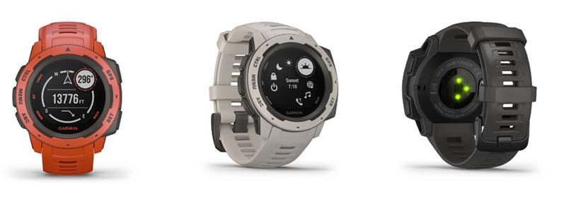 Garmin Instinct: новые защищенные GPS-часы для активного использования