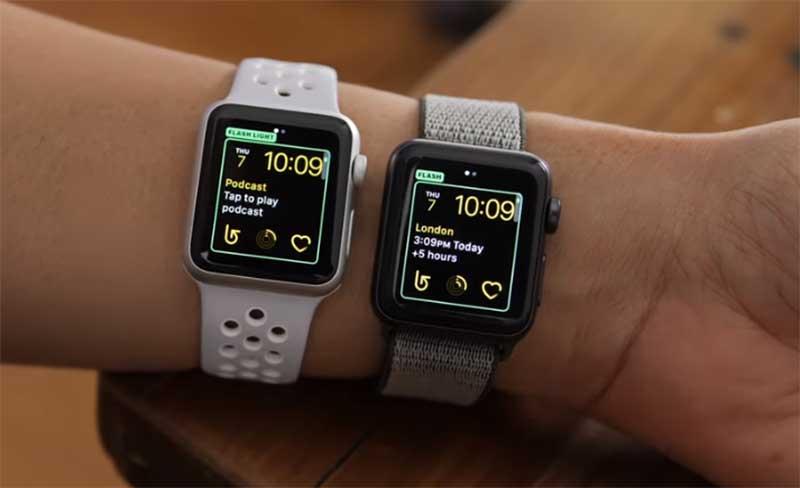 Обновление часов Apple Watch до WatchOS 5.1
