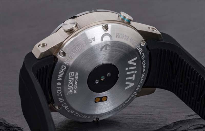 Умные часы VIITA Titan HRV: титан, керамика, сапфировое стекло и искусственный интеллект