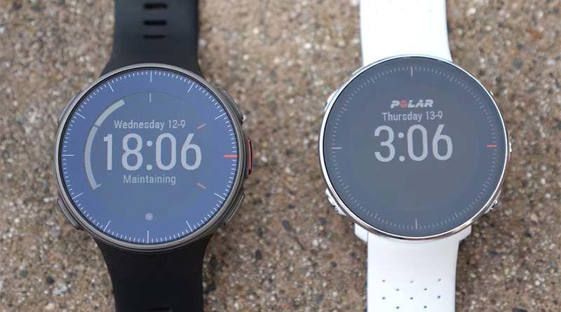 Спортивные смарт-часы Polar Vantage V и Vantage M