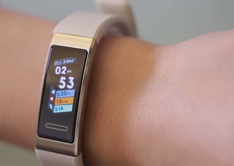 Huawei Band 3 Pro представлен официально: цена, характеристики и особенности