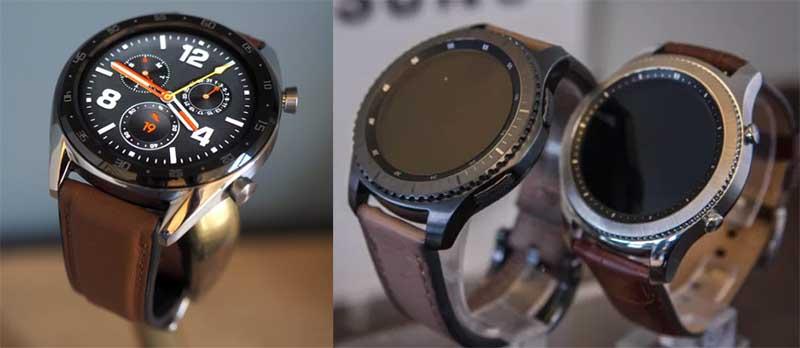 Huawei Watch GT vs Samsung Galaxy Watch: Дизайн и характеристики