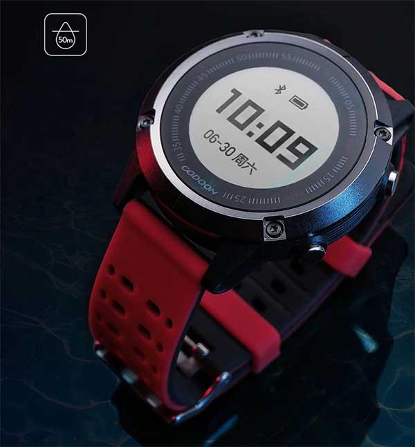Xiaomi Codoon S1: недорогие фитнес-часы с GPS и 35 днями автономной работы