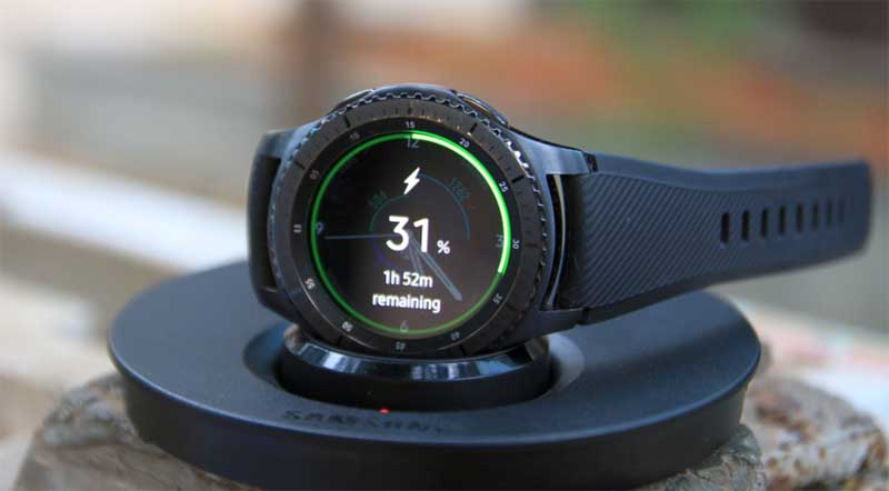Проблема с аккумулятором Samsung Gear S3
