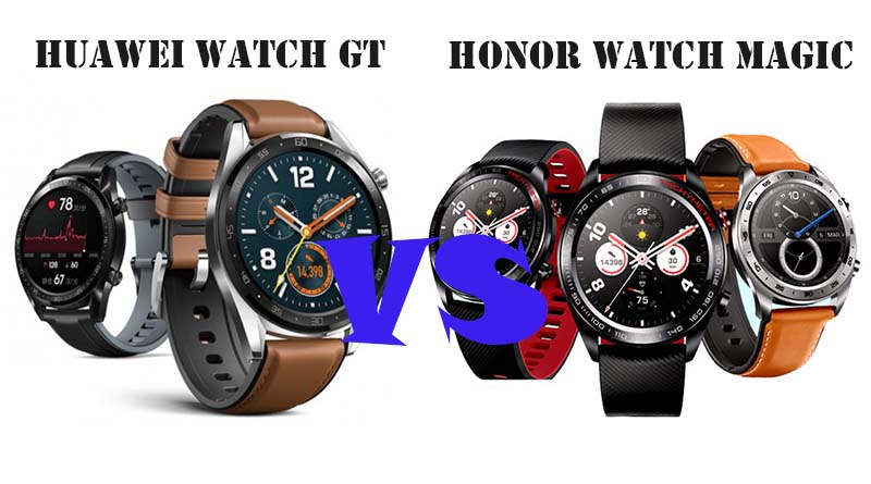 Huawei Watch GT и Honor Watch Magic