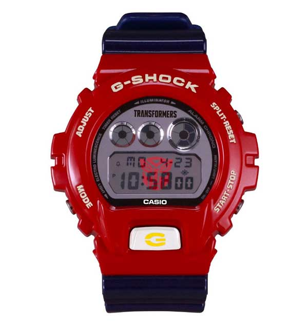 G-Shock x Transformers DW-6900TF-Set Master Optimus Prime Resonant Mode