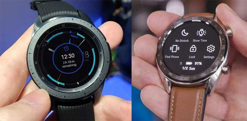 Huawei Watch GT или Samsung Galaxy Watch: какие часы круче?