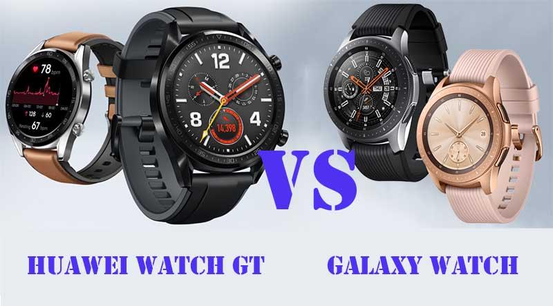 Huawei Watch GT или Samsung Galaxy Watch