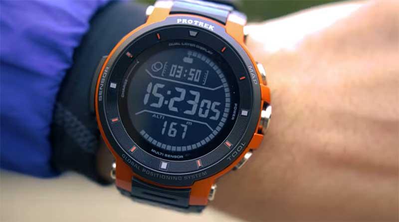Смарт-часы Casio PRO TREK WSD-F30 будут доступны с 18 января