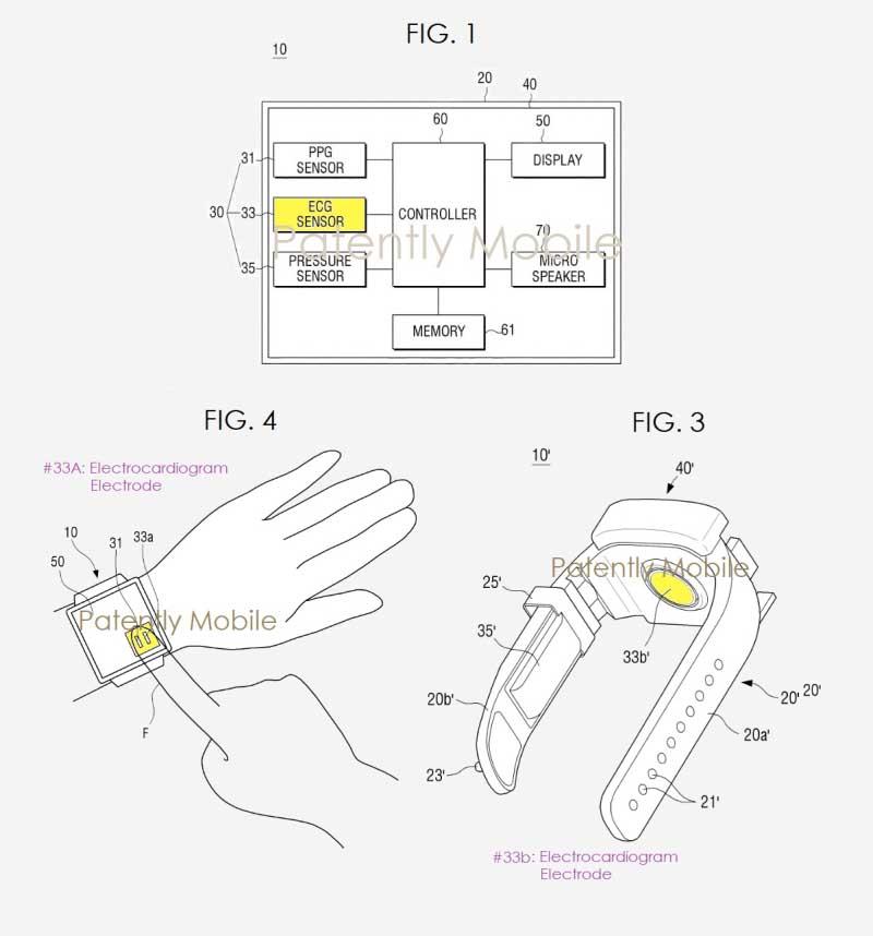 Умные часы Samsung смогут измерять артериальное давление и снимать ЭКГ