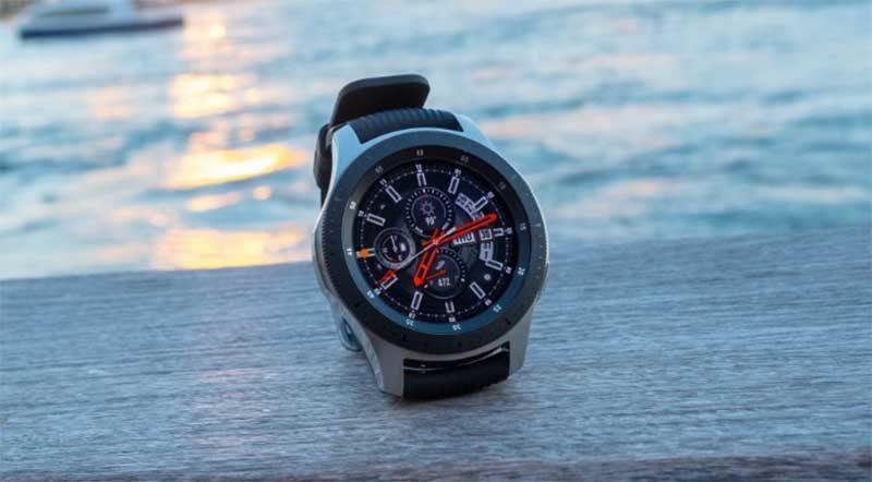 Умные часы Galaxy Watch 2 могут иметь сканер отпечатков пальцев под экраном