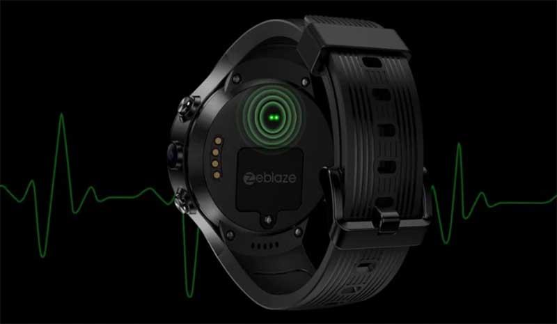 Zeblaze THOR 4 Dual: умные часы с двумя камерами, 4G, GPS и датчиком пульса
