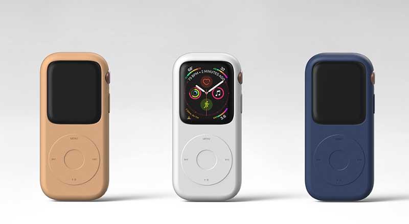 Pod Case: концепт способный превратить Apple Watch в iPod