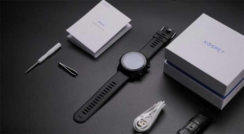 Kospet Brave: умные-часы телефон с поддержкой 4G, 2 ГБ ОЗУ и тонометром