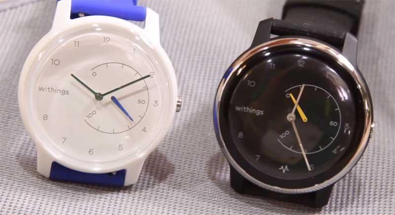 Гибридные часы Withings Move ECG