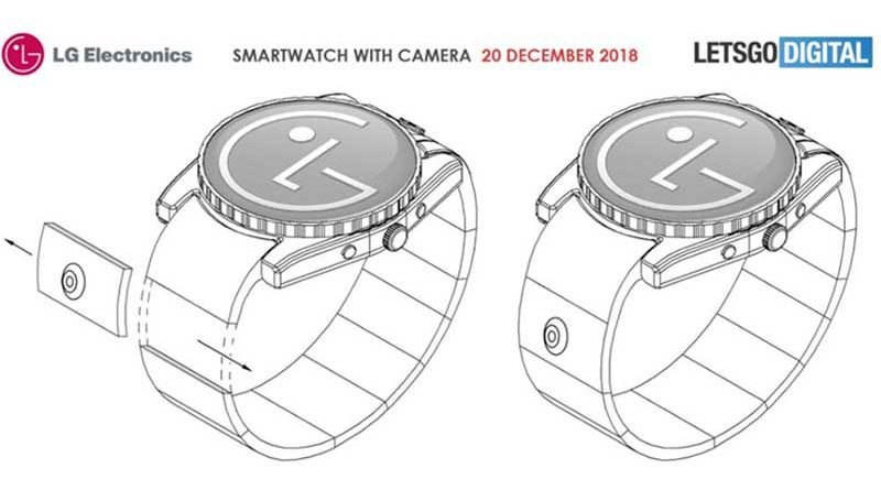 LG планирует оснащать смарт-часы модульной камерой